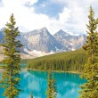 Moraine Lake vertical view — Stock Photo