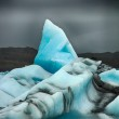 Blueish iceberg HDR — Stock Photo