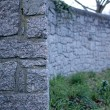 Stock Photo: Cemetery Wall 1