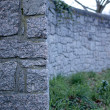 Stockfoto: Cemetery Wall 1