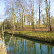 Stock Photo: Rheinauen Canal 1
