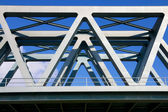 Steel Bridge closeup — Stock Photo