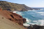Lanzarote El Golfo 1 — Stock Photo