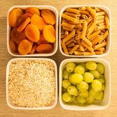 Niedrigen glykämischen Index Essen — Stockfoto