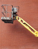 Hydraulic work platform — Stock Photo