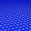 Blue honeycomb bpattern — Foto de Stock