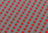 3d hearts background — Stock Photo
