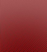 Red honeycomb pattern — Stock Photo