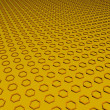 Yellow honeycomb — Foto Stock