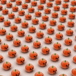 Stock Photo: Halloween pumpkin background