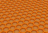 Gouden honingraat — Stockfoto