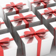 White gift — Stock Photo #38332445