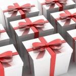 White gift — Stock Photo #38332445