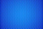 Blue Honeycomb — Stock Photo