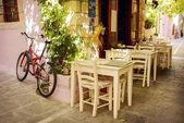 Street cafe — Stock Photo