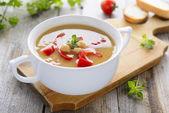 ベジタリアン スープ — ストック写真