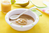 Pear puree — Stock Photo