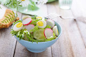 Spring salad — Stock Photo