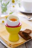Uova e pane — Foto Stock