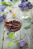 Marmellata di prugne — Foto Stock