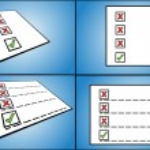 Tick box — Stock Vector