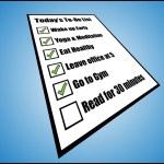Task list or long term goals — Stock Vector