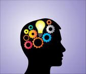 Idea creation — Stock Vector