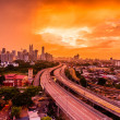 Royalty-Free Stock Photo: Kuala Lumpur skyline from PPR Jelatek