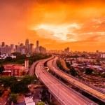 Kuala Lumpur skyline from PPR Jelatek — Stock Photo #18694199