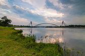 Putrajaya bridge — Foto Stock
