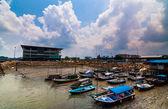 Boats parking port klang — ストック写真