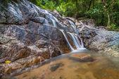 PAnchur waterfall kenyir lake — Stock Photo