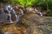 Panchur waterfall kenyir lake — Stock Photo