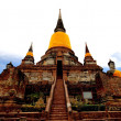 Stock Photo: Wat Yai Chai Mongkol.