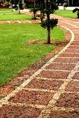 Stone pathway. — Stock Photo