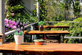 Binnenkant koffie bar — Stockfoto