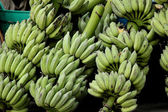 Background, banana, breakfast, bunch, clipping, close-up, closeu — Foto Stock