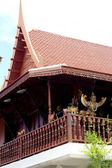 Traditional Thai houses. — Stock Photo