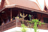 Traditionella thailändska hus. — Stockfoto