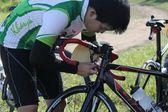 Bicycle race. — Stock Photo