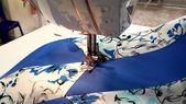 Macchina da cucire con accessori — Foto Stock