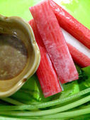 Crab stick — Stock Photo