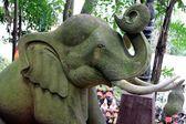Posąg słonia — Zdjęcie stockowe
