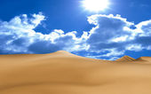 Desert — Stock Photo