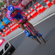 Stock Photo: Michele Scarponi, Prologue of Tour de France 2012