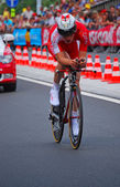 Julien Fouchard, Prologue of the Tour de France 2012 — Fotografia Stock