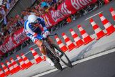 Jurgen Van Den Broeck, Prologue of the Tour de France 2012 — Stock Photo