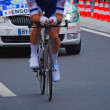 Jimmy Engoulvent, prologue of the Tour de France 2012 — Stock Photo