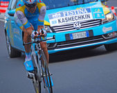 Andrey Kashechkin, prologue of the Tour de France 2012 — Stock Photo