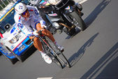 Prologue of the Tour de France 2012 — Стоковое фото